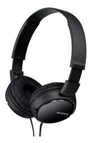 Fone De Ouvido Sony Zx110 Preto Headphone Profissional P2