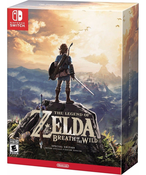 Legend Of Zelda Breath Of The Wild Special Edition Switch