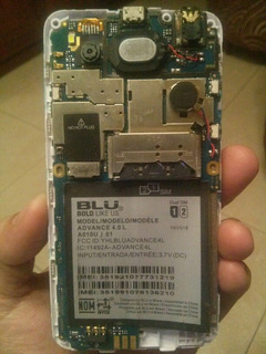 Blu Advance 4.0l Para Reparar O Repuestos(15 Verdes)