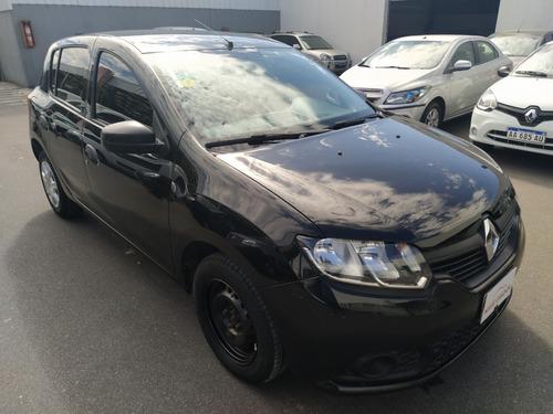 Renault Sandero Expression 2015 Negro Pcf