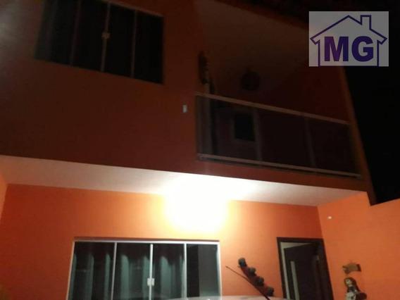 Casa Com 4 Dormitórios À Venda, 115 M² Por R$ 340.000 - Jardim Vitória - Macaé/rj - Ca0292