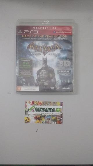 Jogo - Batman Arkham Asylum - Playstation 3