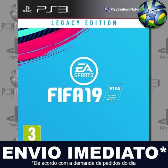 Fifa 19 Fifa 2019 Ps3 Psn Dublado Português Pt Br Promoção
