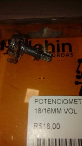 Potenciometro 500k 18/16mm Tone Dolphin