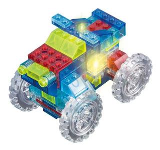 Crystaland Lego Bloques Didácticos Ladrillos C/luz 6 En 1