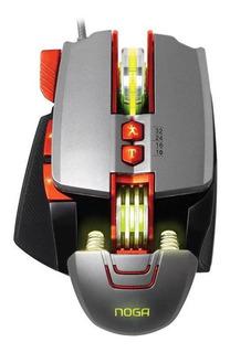 Mouse de juego Noganet ST-Sektor metálico