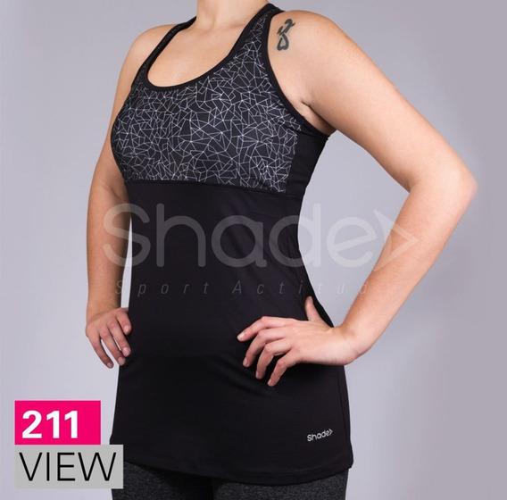 Musculosa Vestido Lycra Combinado Mujer 211 View Shade