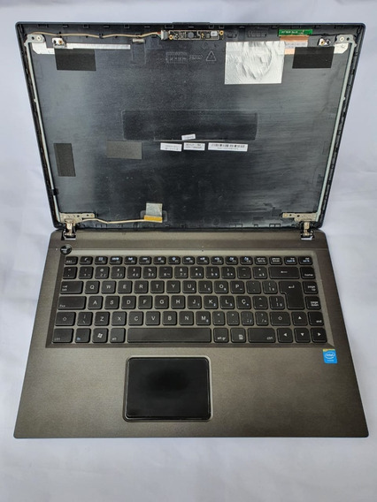 Carcaça Completa Noteboook Hp Compaq Cq-23 Teclado , Grava