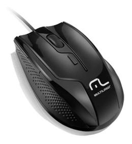 Mouse Multilaser Usb Black - Mo164