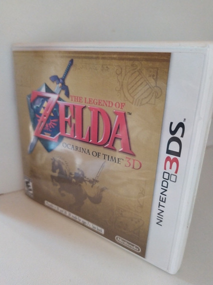 Zelda Ocarina Of Time 3d 3ds