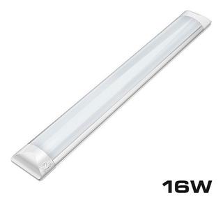 Liston Slim 16w Doble Tira Led 57.6 Cm Blanco Frio