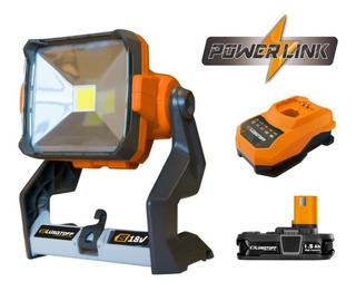 Lámpara Portatil Trabajo Powerlink Lusqtoff Tgmlli18 + Kit