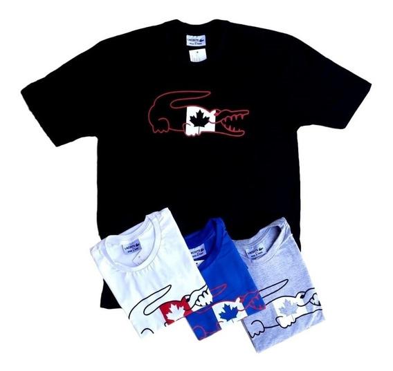 Camisas Masculinas Basic Marca Famosa Colors 10 Peças Cvc