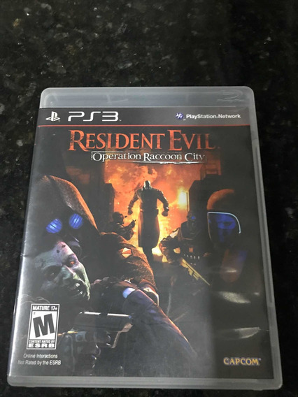 Jogo Ps3 Resident Evil Operation Raccoon City Original