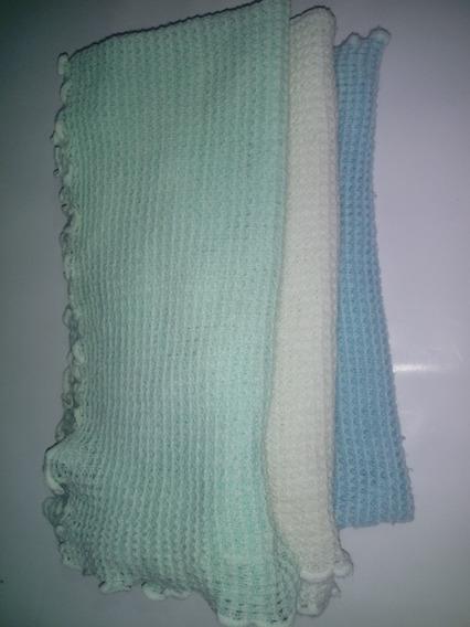 Manta Em Lã Antialérgica Bebê Xale Quentinho 70x80cm