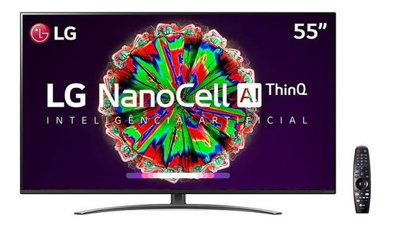Smart Tv Nanocell 55 Polegadas LG 4k Bluetooth Thinq Ai