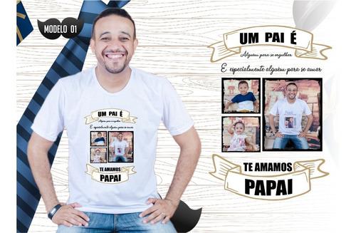 Imagem 1 de 10 de Camiseta Camisa Blusa Pai Dia Dos Pais