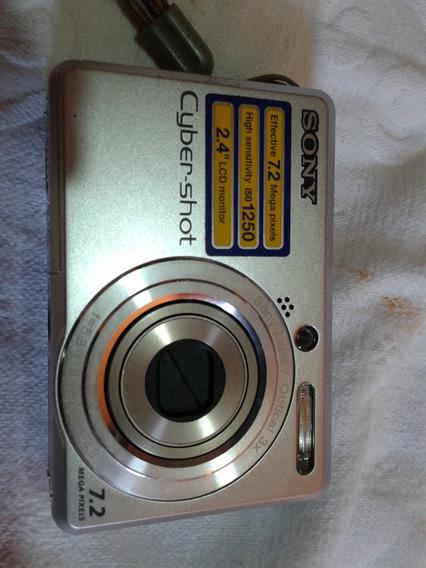 Câmera Digital Sony Dsc-s730 7,2mp - Com Defeito