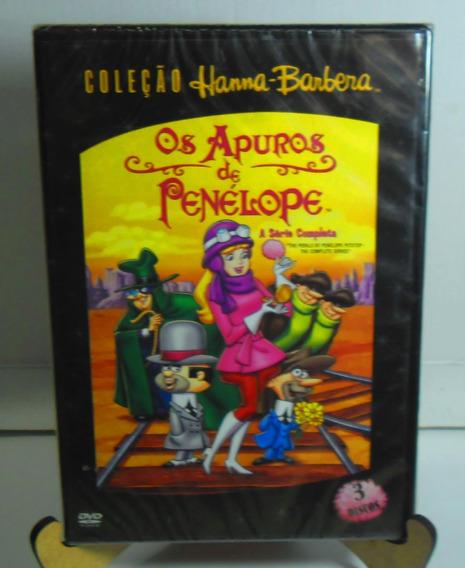 Os Apuros De Penelope Charmosa Dvd Hanna Barber 3 Discos