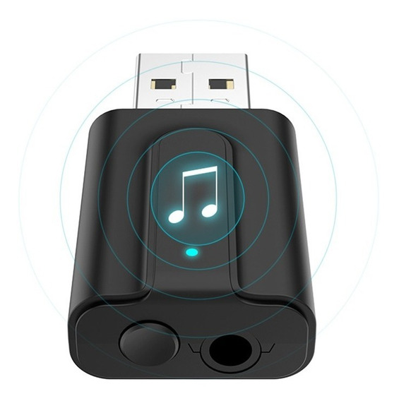 Receptor E Transmissor De Áudio Bluetooth 5.0 Conversor P2