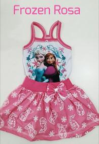 Vestido Infantil Roupa Elza Frozen Promoção Barato