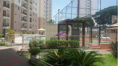 Apartamento Com 2 Dormitórios À Venda, 56 M² Por R$ 270.000,00 - Jardim Augusta - São José Dos Campos/sp - Ap8739