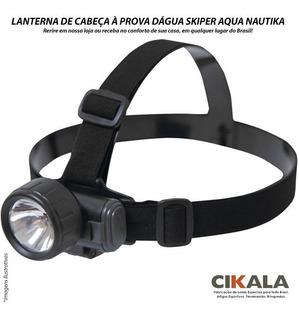 Lanterna De Cabeça À Prova Dágua Skiper Aqua Nautika 310350