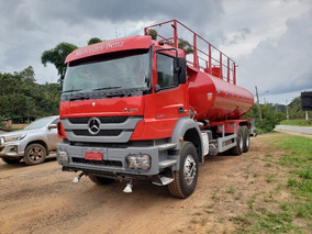 Mercedes-bens Axor 3131 6x4 Ano 2014 Tanque Pipa 20.000 Ltrs