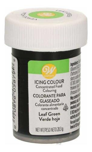 Imagen 1 de 3 de Colorante Comestible Color Verde Hoja Marca Wilton