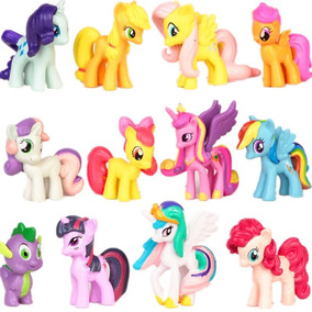 Lote De 12 Mini Bonecos My Little Poney My Pony - No Brasil