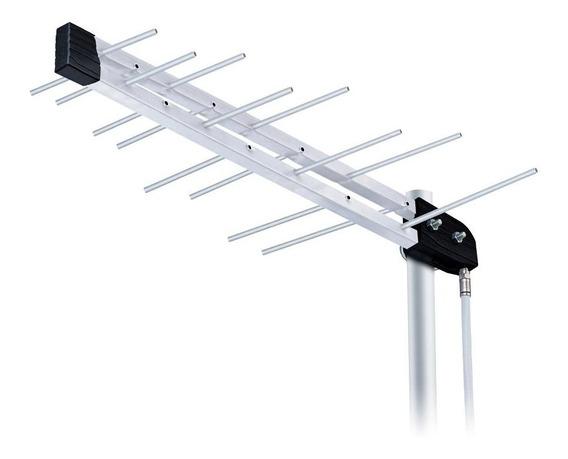 Antena Externa Aquario Lu-8c Log Periodica Digital Uhf/ Hdtv
