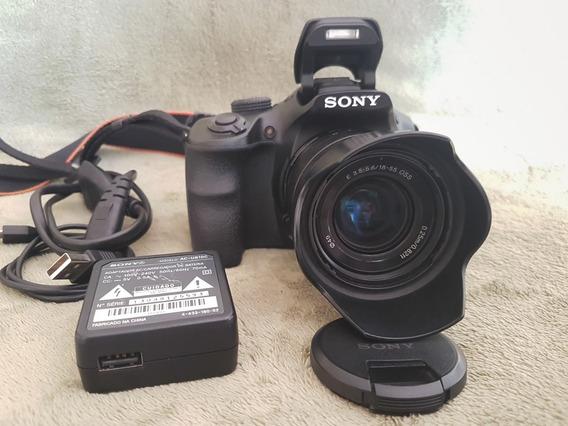 Câmera Sony A3000 Ilce 3000 20 Mpixels 18-55 Frete Gratis
