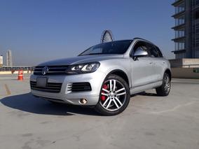 Volkswagen Touareg 2013 Blindada Nivel 3 V6 Piel Quemacocos