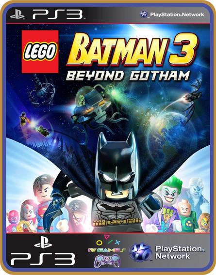 Lego Batman 3: Além De Gotham - Psn Ps3 - Jogo Completo