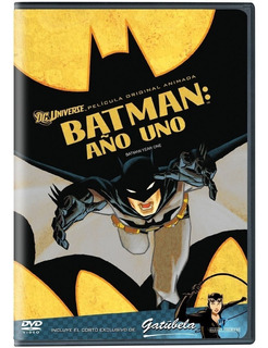 Batman Año 1 Uno Dc Comics Pelicula Animada Dvd