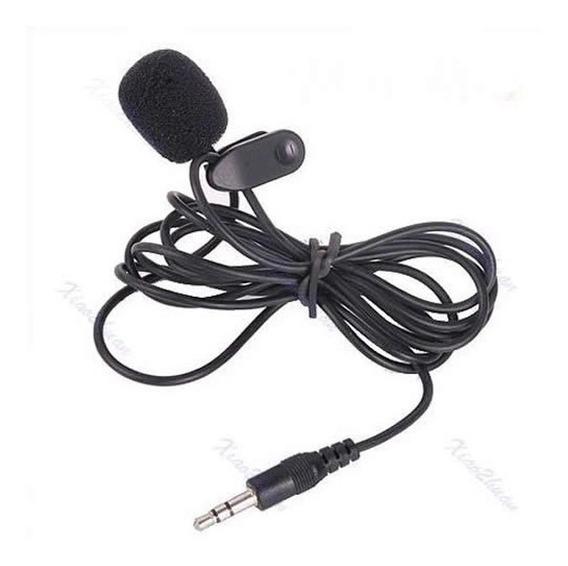 Microfone Lapela Headset Para Palestras E Gravações
