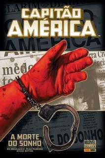 Hq Capitão América - A Morte De Um Sonho