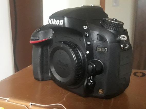 Câmera Nikon D610 Full Frame (corpo)