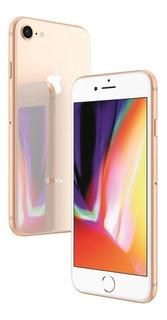 Usado: iPhone 8 256gb Ouro 4.7 Ios 4g Câmera 12mp