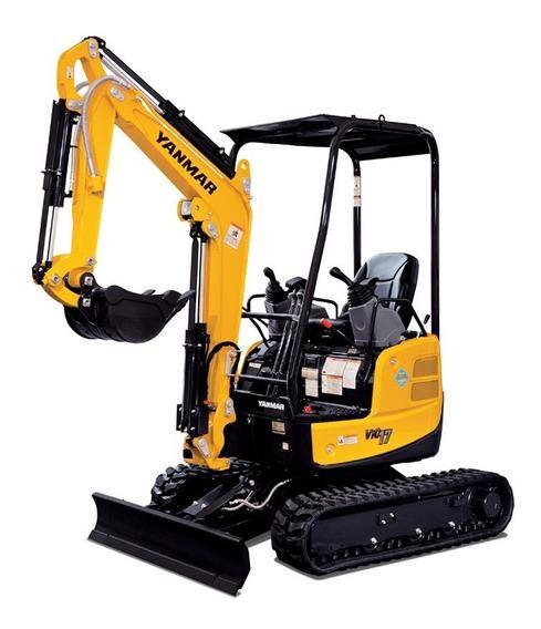 Miniexcavadora Mini Excavadora Yanmar 2 Ton Consultar Precio