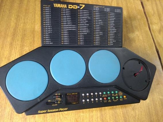 Digital Percussion Yamaha Dd-7 Super Session Player Leia Bem