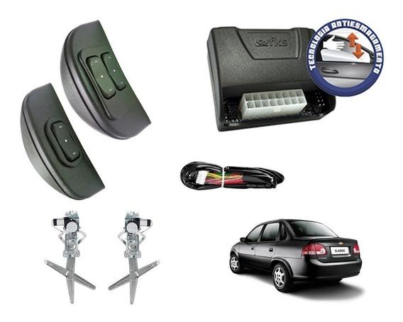 Kit Vidro Elétrico Corsa Classic Dianteiras - Sensorizado