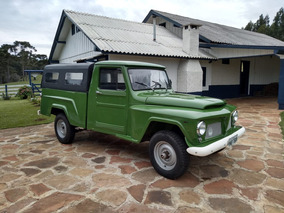 Vendo Pick-up Ford Willys Ano 1972 Original