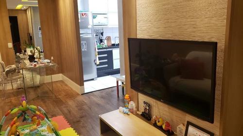 Apartamento Com 2 Dormitórios À Venda, 55 M² Por R$ 395.000,00 - Parque Independência - São Paulo/sp - Ap3111