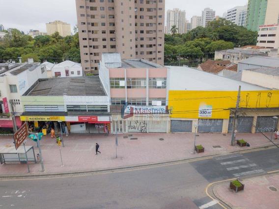 Sala Para Alugar, 200 M² - Centro - Curitiba/pr - Sa0011