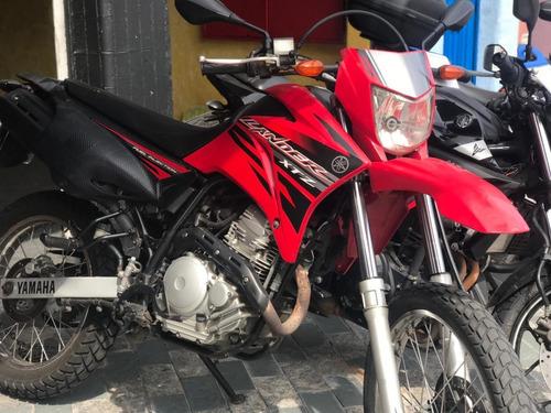 Yamaha Lander Xtz 250 Cc 2014 Vermelha