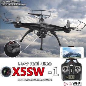 Drone Quadricoptero Com Camera Wifi Syma X5sw Barato