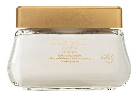 Creme Acetinado Elysée Blanc Boticário
