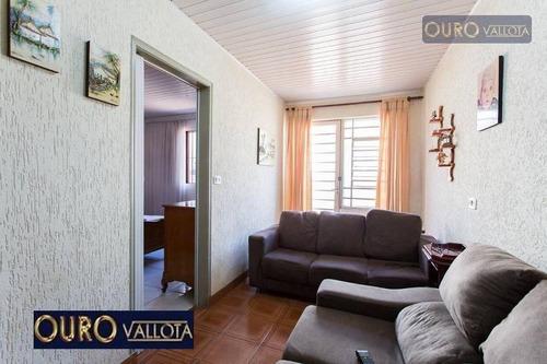 Casa Com 2 Dormitórios À Venda, 180 M² Por R$ 460.000,00 - Vila Santa Clara - São Paulo/sp - Ca0424