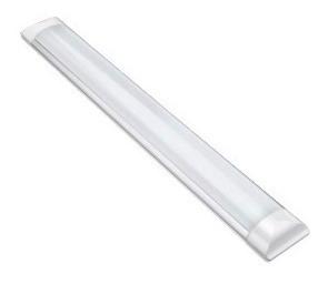 Lâmpada Luminária Linear Led Slim 2,4m Branco Quente